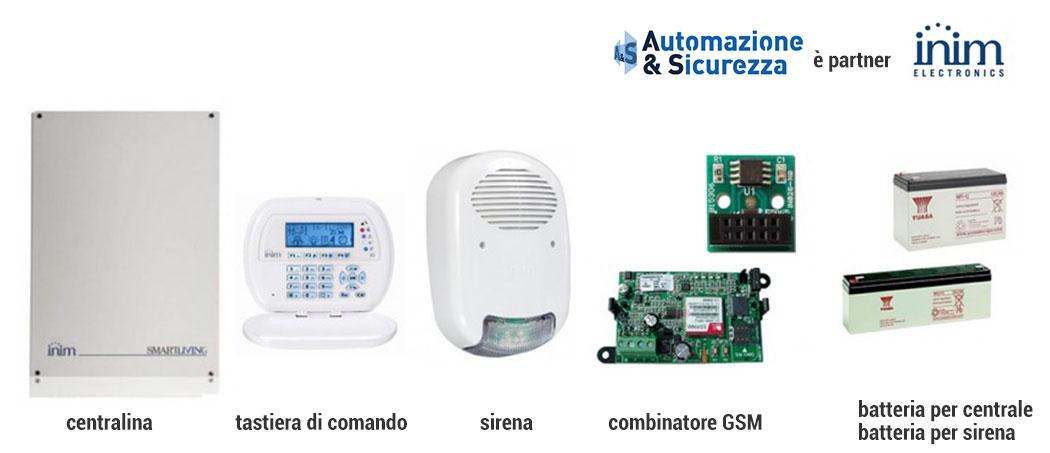 kit inim promo sicurezza 2017