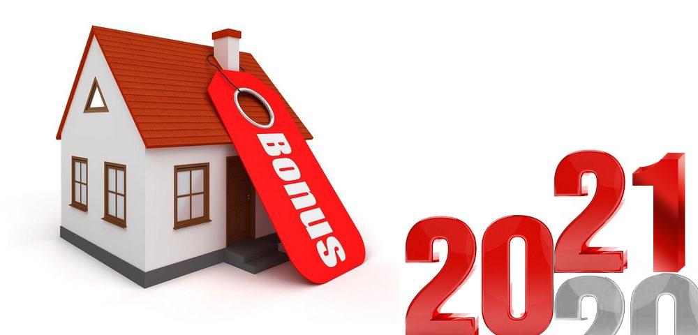 Bonus sicurezza 2021